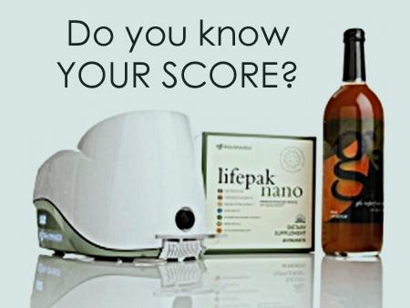What's your Skin Carotenoid Score?