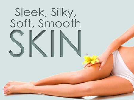 Sleek, Silky, Soft, Smooth SKIN